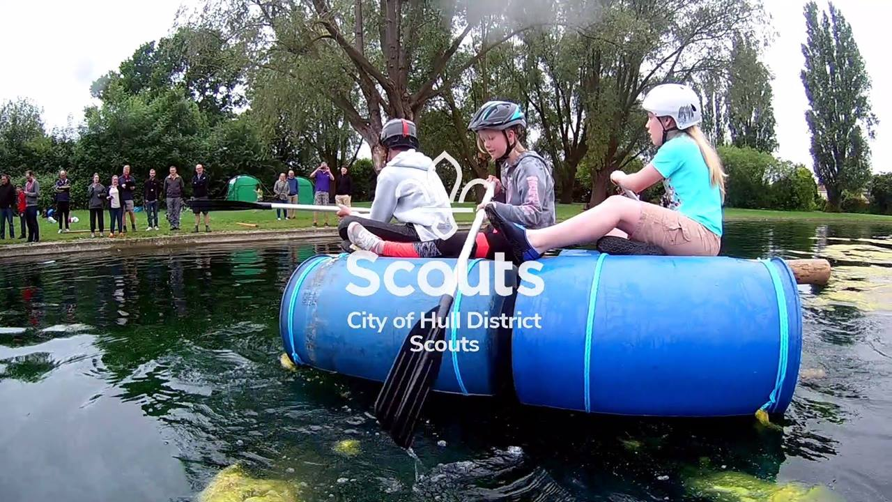 City of Hull District Scouts - Raft Race 2018