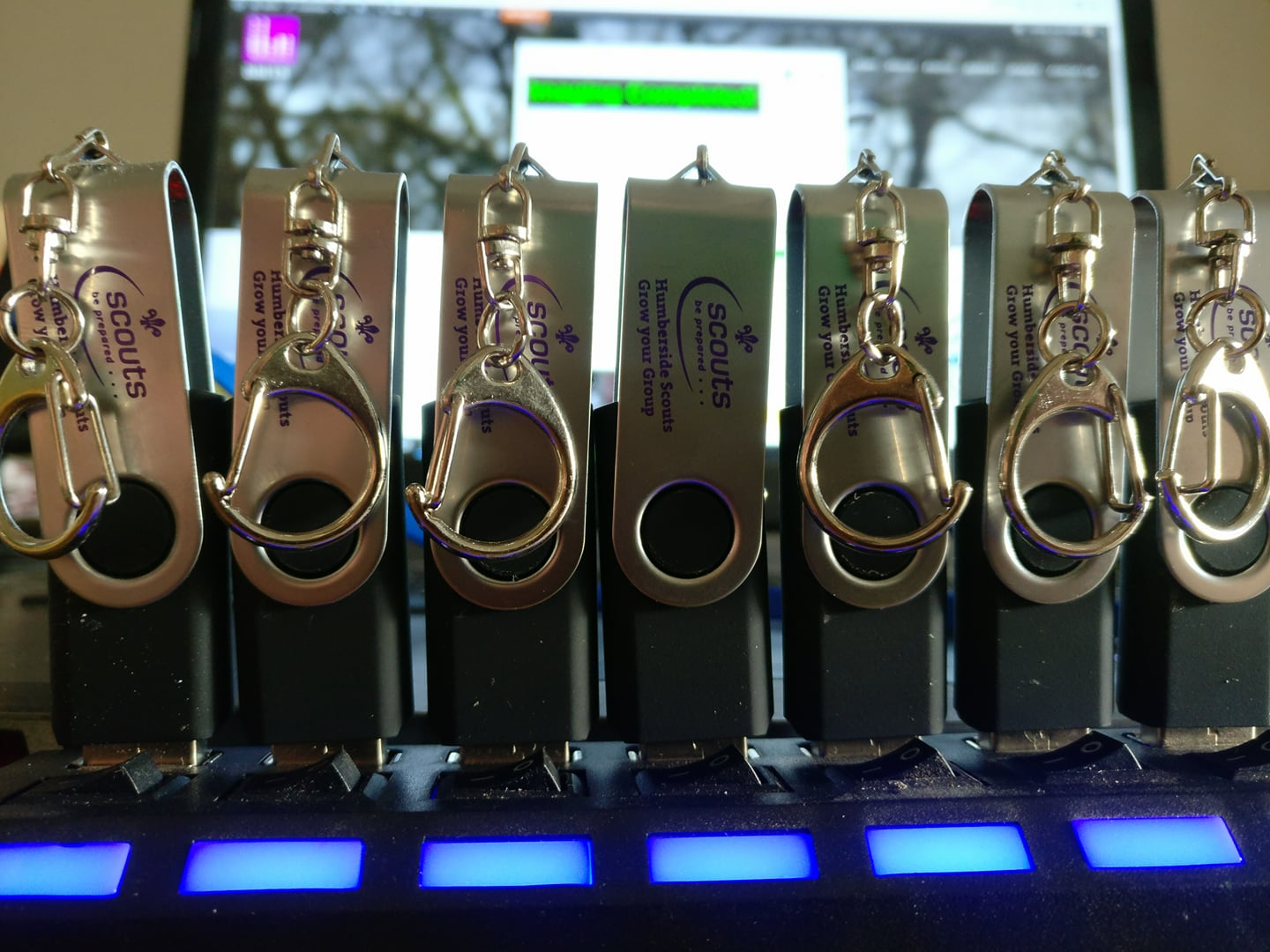 Currently we are making sure all of the USB resources drives are ready for Humbe...