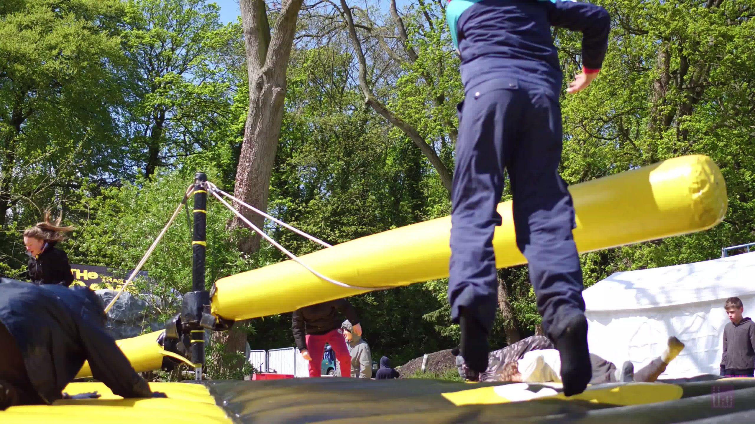 Humberside County Scout Camp 2019 - Inflatables