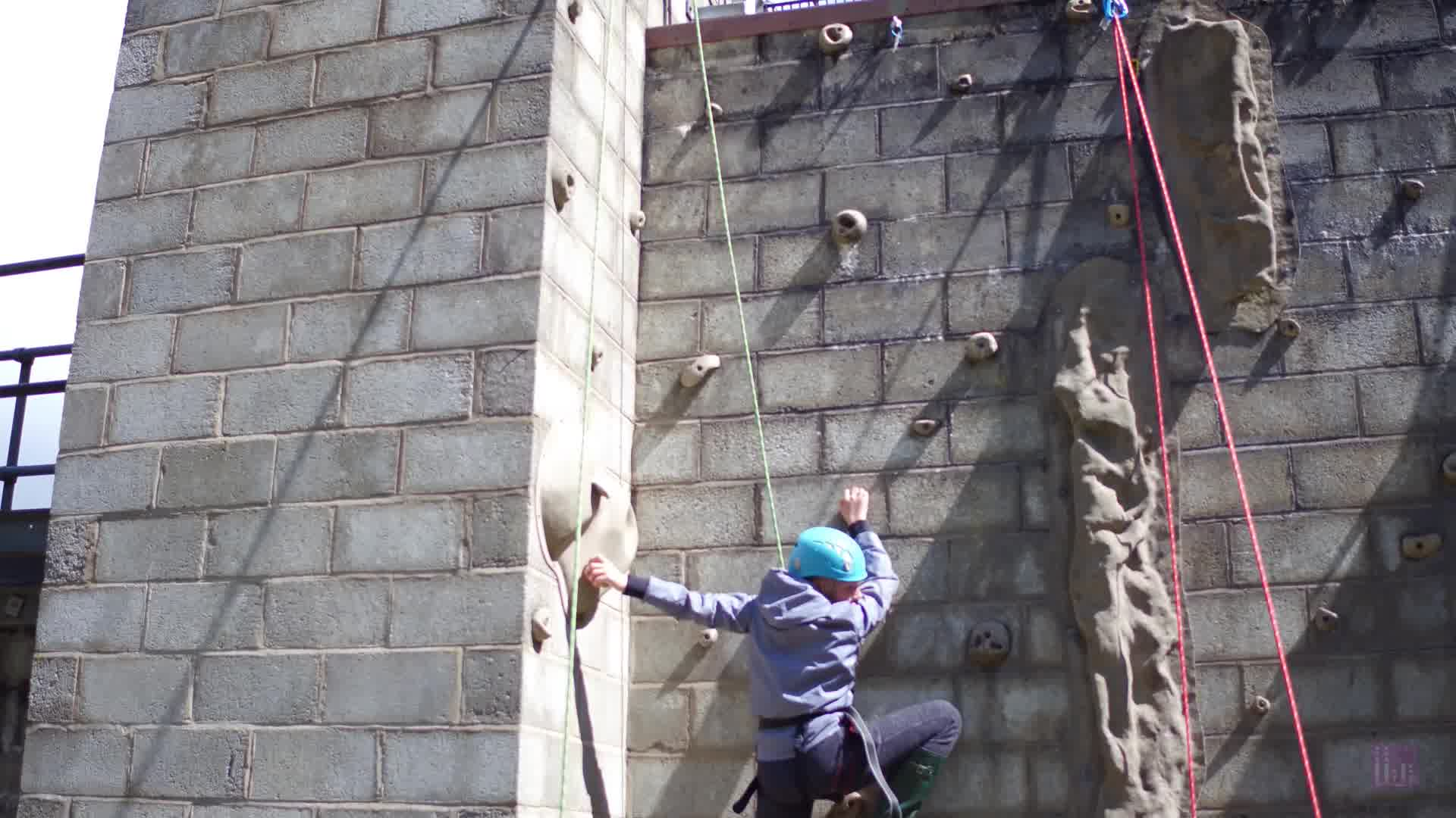 Humberside County Scout Camp 2019 - Rock Climbing