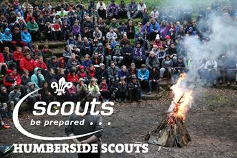Humberside County Scout Camp Fire 2017