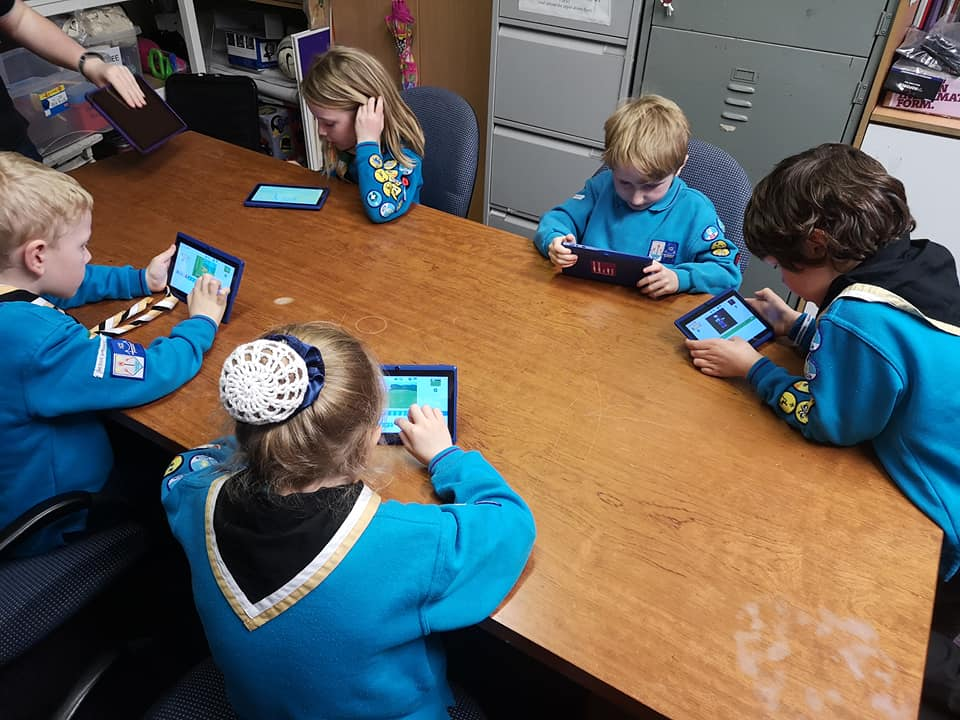 Tonight we have been down to Hessle Scout Group with our tablets so the Beavers ...